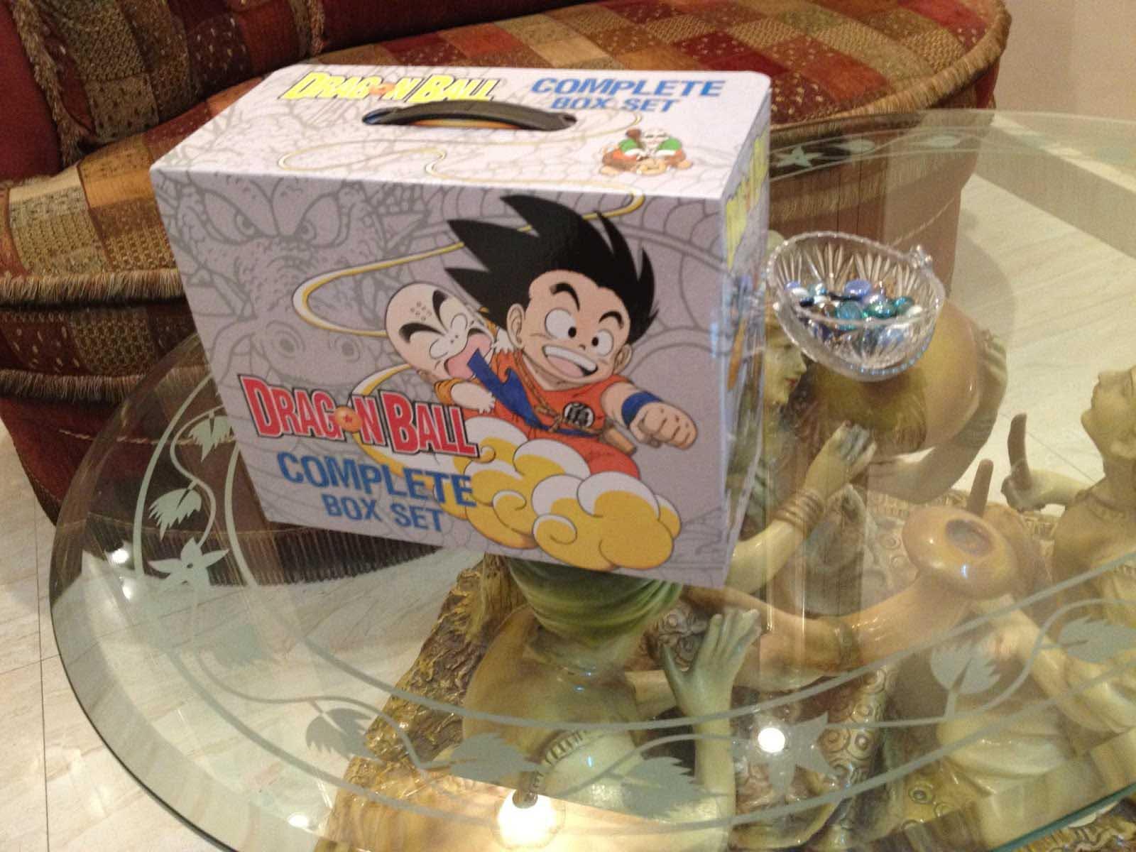 DragonBall Manga Box
