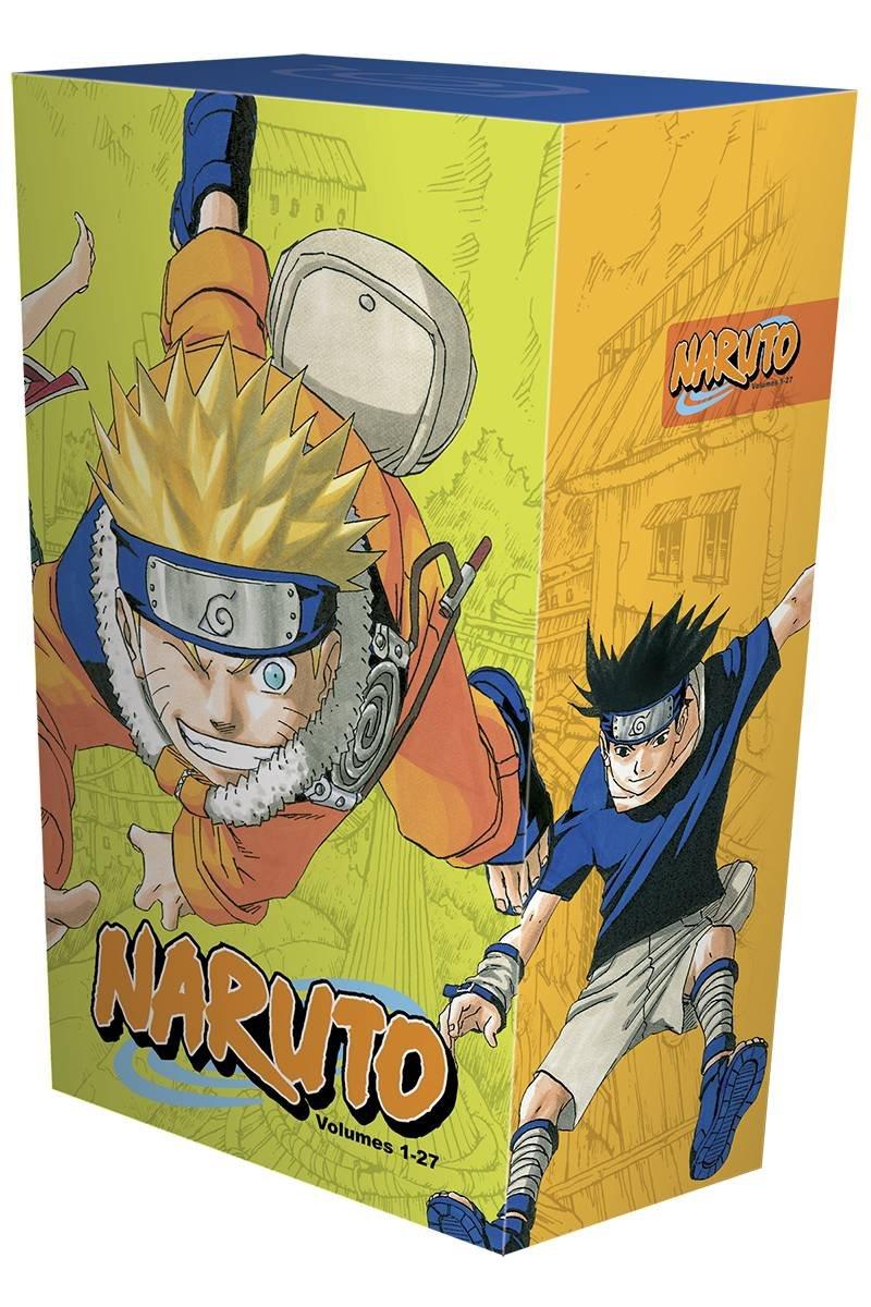 Naruto Box Set Vol 1 to 27