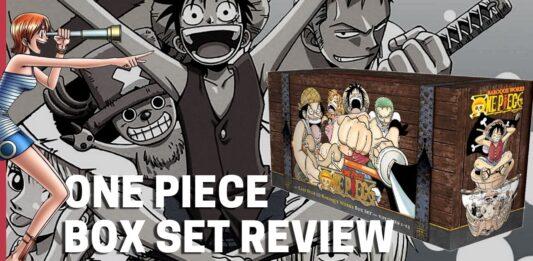 One Piece Manga Box Set - 1 Review (Vols 1 to 23) - BookReviewsTV