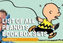 LIST OF ALL PEANUTS BOOK BOX SET