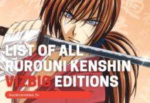 List of Rurouni Kenshin VigBig BookReviewsTV