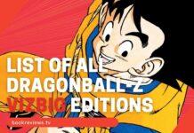 List of all Viz Media DragonBall-Z VIZBIG Manga Editions BookReviewsTV