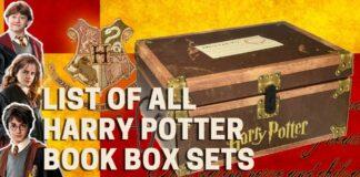 LIST OF ALL HARRY POTTER BOOK BOX SET - BookReviews.TV