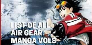 List of Air Gear Manga Vols - BookReviews.TV
