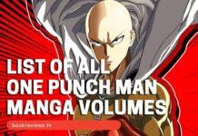 List of One Punch Man Manga Vols2 - BookReviewsTV