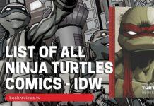 List of TMNT Comics IDW - BookReviewsTV
