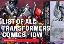 List of Transformers Comics IDW - BookReviewsTV