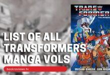 List of Transformers - The Manga - BookReviewsTV