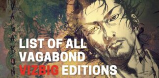 List of Vegabond VizBig BookReviewsTV