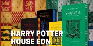 List of all Harry Potter Hogwarts House Special Edition Book List - BookReviewsTV