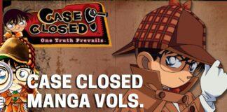 List of all Case Closed (DETECTIVE CONAN) Manga Volumes - BookReviewsTV