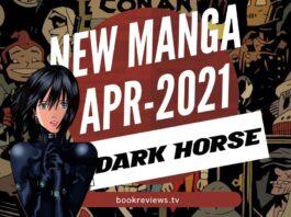 New Manga Releases April 2021 DARK HORSE COMICS - BookReviewsTV