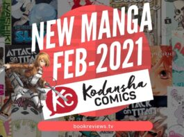 New Manga Releases Feb 2021 - KODANSHA COMICS - BookReviewsTV