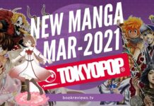 New Manga Releases March 2021 - TOKYOPOP - BookReviewsTV