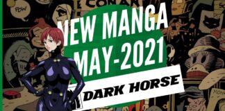 New Manga Releases May 2021 DARK HORSE COMICS - BookReviewsTV