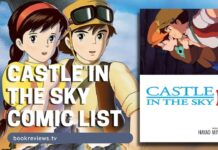 Castle in the Sky Film Comic List - BookReviewsTV