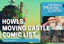 Howls Moving Castle Film Comic List - BookReviewsTV