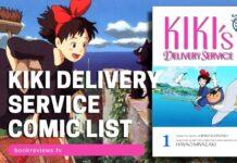 Kiki Delivery Service Film Comic List - BookReviewsTV