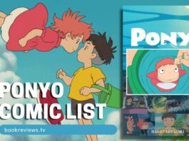 Ponyo Film Comic List - BookReviewsTV