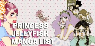 Princess Jellyfish Manga List - BookReviewsTV