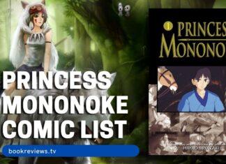 Princess Mononoke Comic List - BookReviewsTV