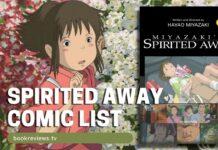 Spirited Away Film Comic List - BookReviewsTV