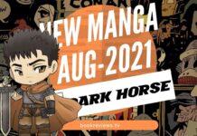 New Manga Releases August 2021 DARK HORSE COMICS - BookReviewsTV