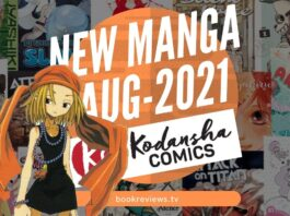 New Manga Releases August 2021 - KODANSHA COMICS - BookReviewsTV