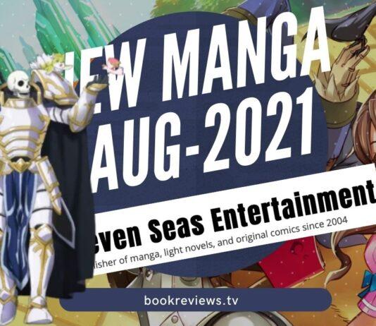 New Manga Releases August 2021 - Seven Seas Entertainment - BookReviewsTV