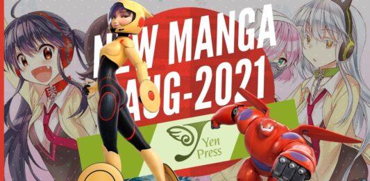 New Manga Releases August 2021 - Yen Press - BookReviewsTV