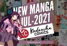 New Manga Releases July 2021 - KODANSHA COMICS - BookReviewsTV