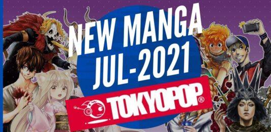 New Manga Releases July 2021 - TOKYOPOP - BookReviewsTV